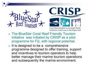 BlueStar Coral Reef Friendly Tourism Presentation