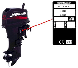 Mercury Outboard Serial Number Guide from MarineEngine