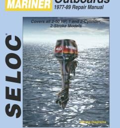 mariner outboard 2 60 hp 1977 1989 repair service manual [ 1050 x 1405 Pixel ]