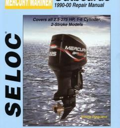 mercury mariner outboards 2 5 275 hp 1990 2000 repair service manual [ 1050 x 1404 Pixel ]