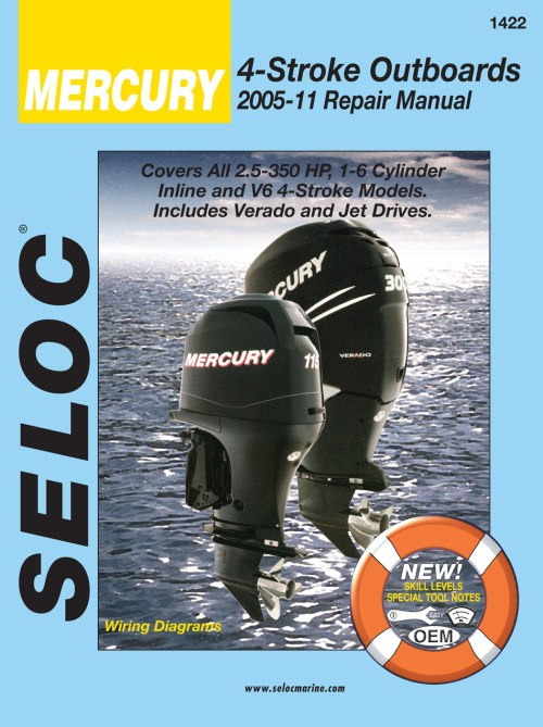 small resolution of mercury 4 stroke outboards all 2 5 350 hp 2005 2011 repair service manual