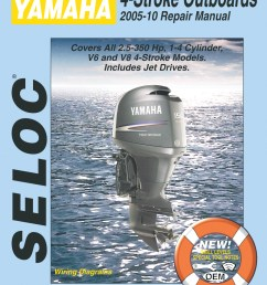 yamaha 4 stroke outboards 2005 2010 repair service manual [ 1219 x 1631 Pixel ]