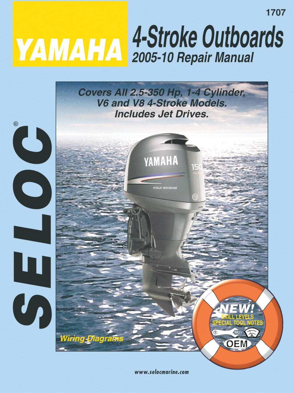 medium resolution of yamaha 4 stroke outboards 2005 2010 repair service manual