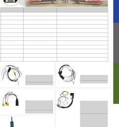 electronic control units wiring harnesses mercury mariner cdi electronics catalog [ 1158 x 1549 Pixel ]