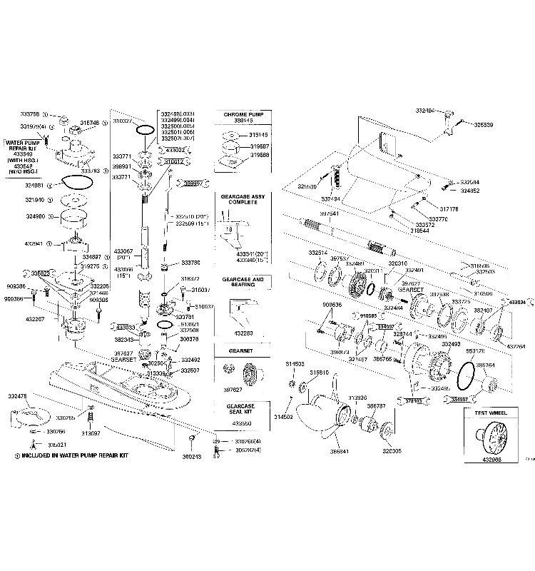 1989 johnson 40 hp wiring diagram