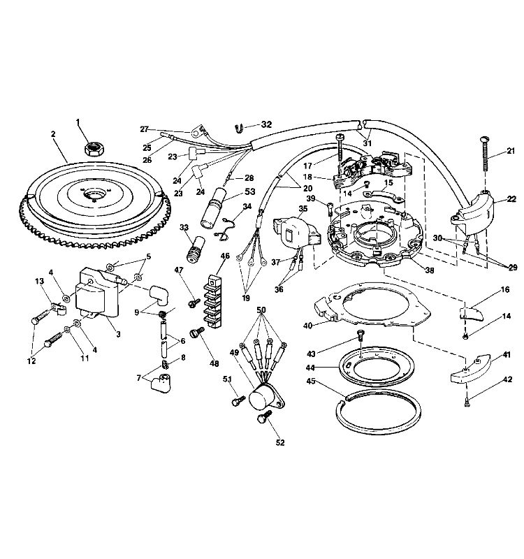 Evinrude 48 Hp Engine Diagram, Evinrude, Free Engine Image