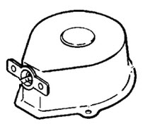 Johnson Recoil Starter Assembly Parts for 1996 3.3hp