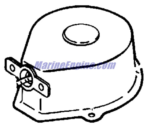 Johnson Recoil Starter Assembly Parts for 1999 3.3hp