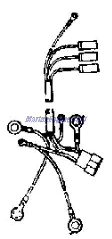 Evinrude Power Tilt And Trim Parts for 1976 115hp 115693D