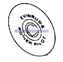 Evinrude Remote Control Parts for 1975 70hp 70573B