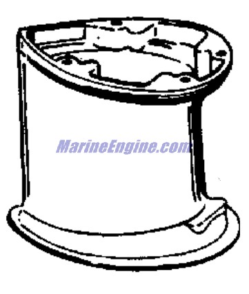 Johnson Gear Case Parts for 1958 10hp QD-19 Outboard Motor