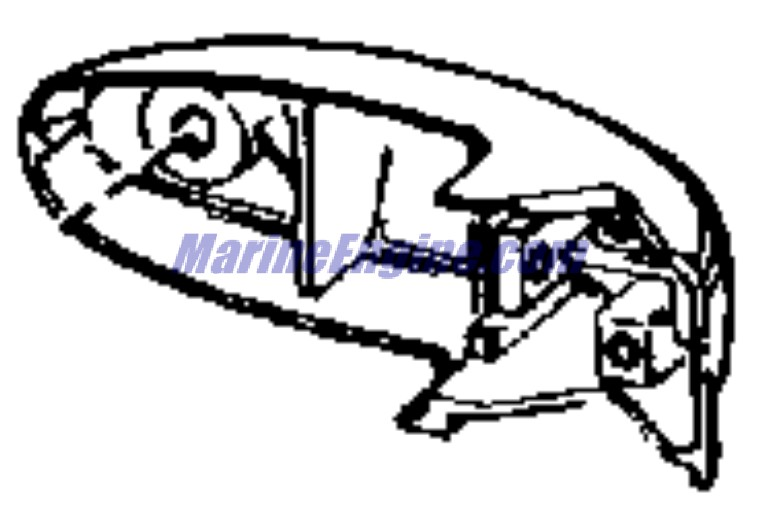 Evinrude Lower Unit Group Parts for 1965 33hp 33552