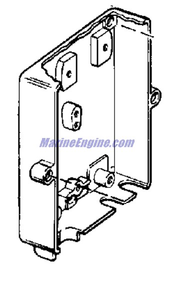 Evinrude Lark Junction Box And Switch Plate Group Parts
