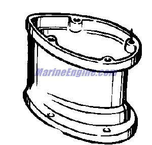 Evinrude Lightwin Gear Housing Parts for 1960 3hp 3034