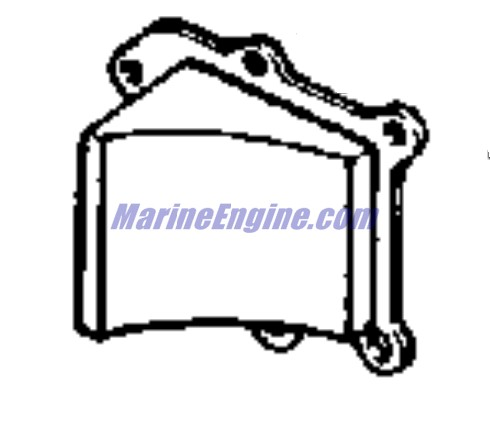 powerhead group Parts for 1965 40hp rds-27 Outboard Motor