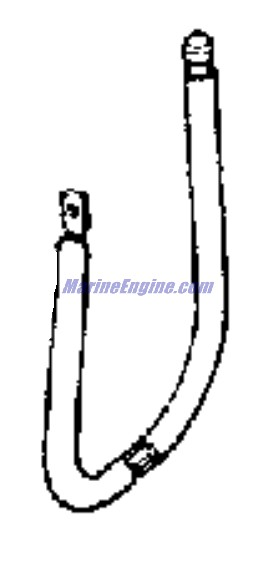 Evinrude Motor Cover Group Parts for 1970 4hp 4006E