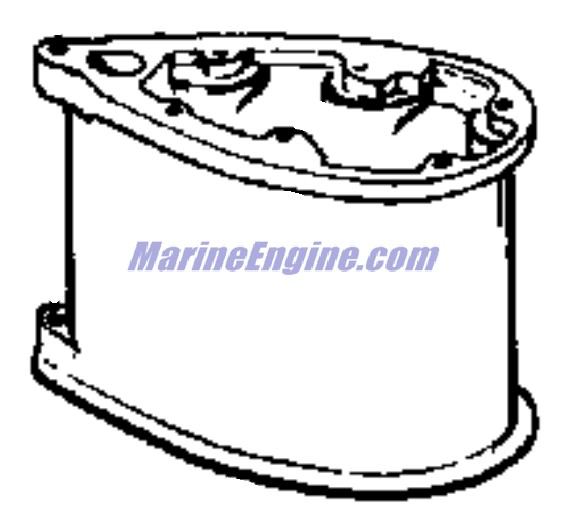 Johnson Gearcase Parts for 1973 40hp 40RL73D Outboard Motor