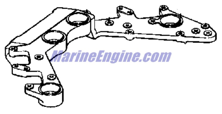 Evinrude Ignition System Parts for 1975 85hp 85593E
