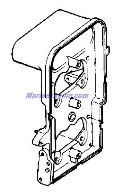 Johnson Intake Manifold Parts for 1975 115hp 115ESL75E