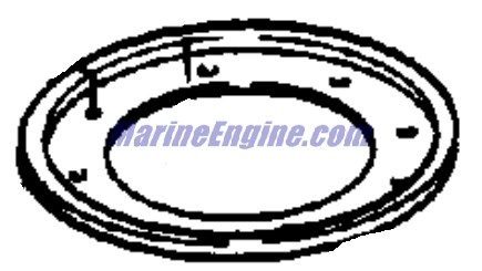 Evinrude Magneto Parts for 1975 15hp 15504C Outboard Motor