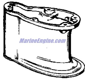 Evinrude Fastwin Gear Case Parts for 1960 18hp 15032