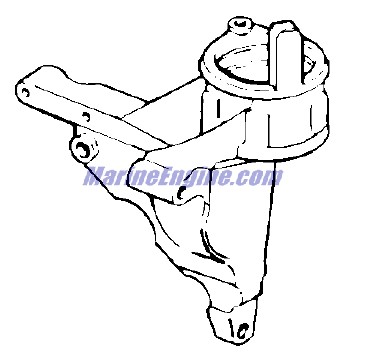 Evinrude Cylinder & Crankcase Parts for 1977 25hp 25702S