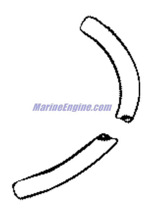 Johnson Fuel Tank Parts for 1958 35hp RDS-20 Outboard Motor