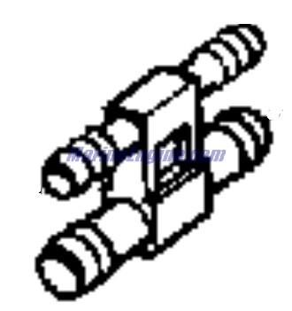 Evinrude Vro2 Pump Parts for 1989 120hp E120TLCEM Outboard