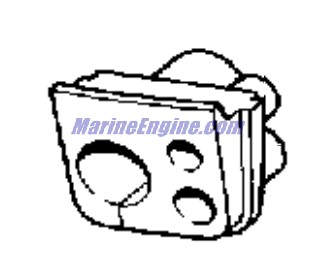 Evinrude Vro2 Pump Parts for 1989 120hp E120TLCEM Outboard