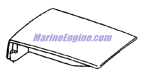 motor cover Parts for 1980 100hp j100trlcsc Outboard Motor