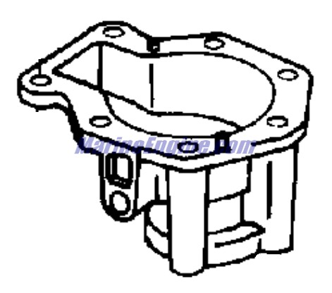 35 Hp Johnson Outboard Motor 35 HP Evinrude Water Pump