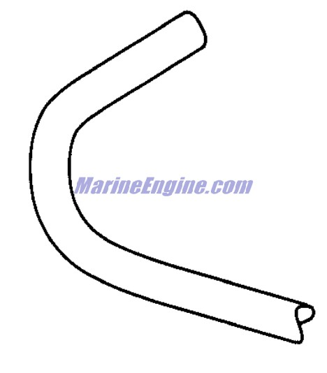 Evinrude Hose Routing Parts for 2001 150hp E150FPXSIF