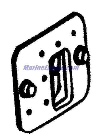 Johnson Engine Cover Parts for 2003 150hp J150PXSTM