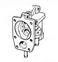 Evinrude Fuel Pump Parts for 1959 35hp 35516 Outboard Motor