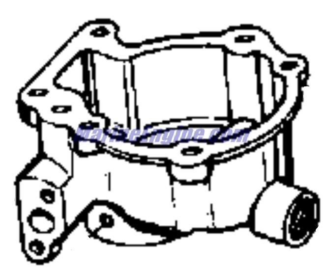Johnson Carburetor Group Parts for 1965 18hp FD-19