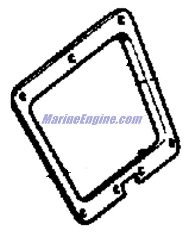 Johnson Motor Cover Group Parts for 1968 65hp VXL-14B