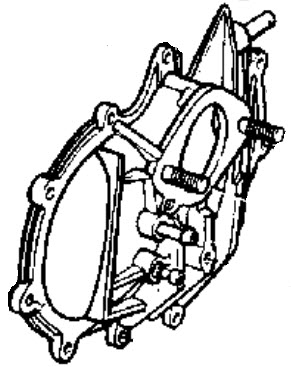 Evinrude Carburetor Group Parts for 1968 40hp 40803A