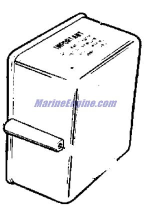 Evinrude Junction Box Parts for 1964 40hp 40463 Outboard Motor