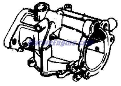 Evinrude Manual Start Carburetor Group Parts for 1964 40hp