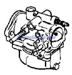 Johnson Carburetor Group Parts for 1969 55hp 55ESL69A