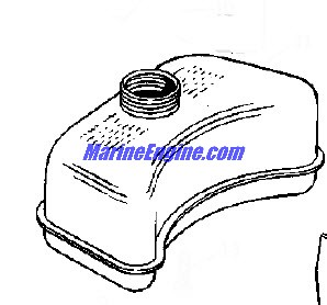 Johnson Motor Cover Group Parts for 1969 1.5hp 1R69C