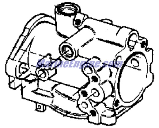 carburetor group Parts for 1970 20hp 20r70e Outboard Motor