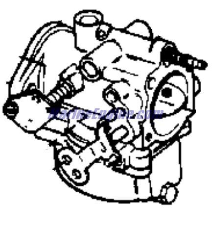 carburetor Parts for 1973 50hp 50esl73r Outboard Motor