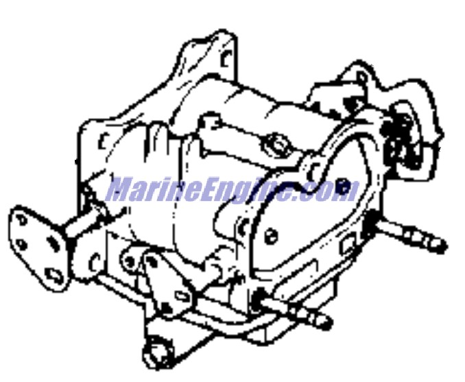 Evinrude Carburetor Group Parts for 1969 85hp 85993S