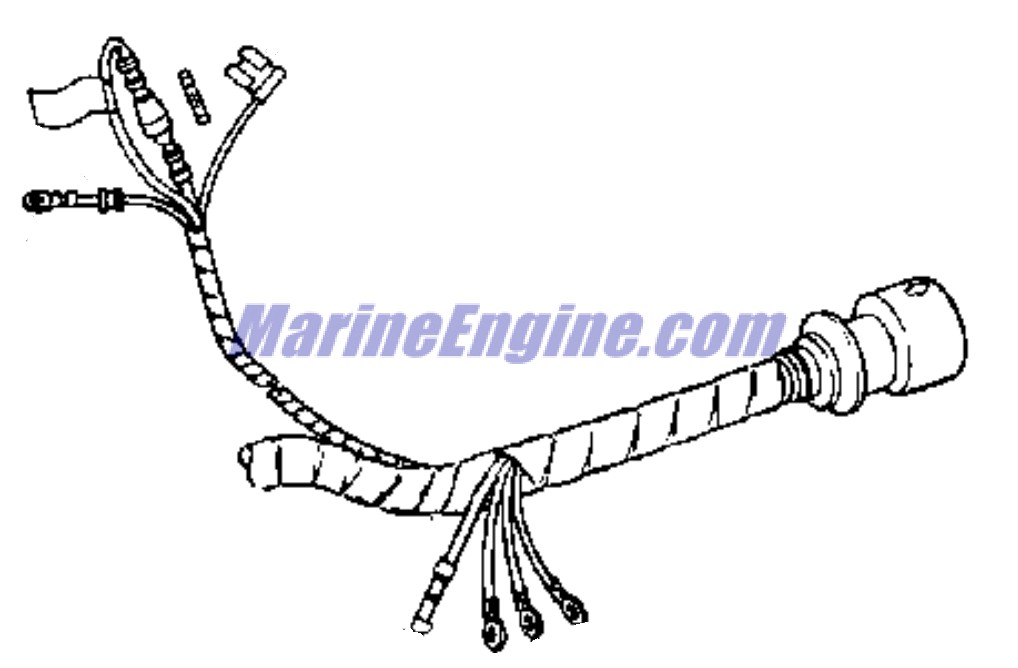 Evinrude Ignition System Parts for 1973 50hp 50373R