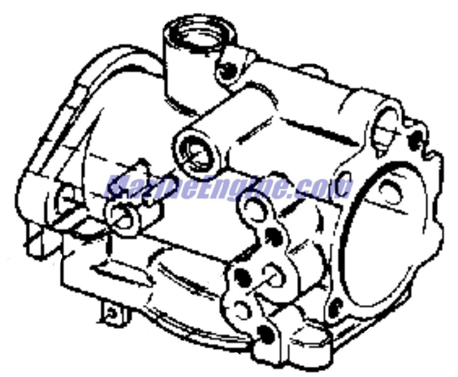 Evinrude Carburetor Parts for 1973 18hp 18304A Outboard Motor