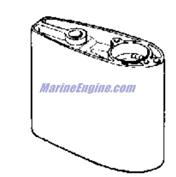Evinrude Gearcase Parts for 1980 2hp E2RCSM Outboard Motor