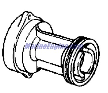Evinrude Gearcase Group Parts for 1975 15hp 15504C