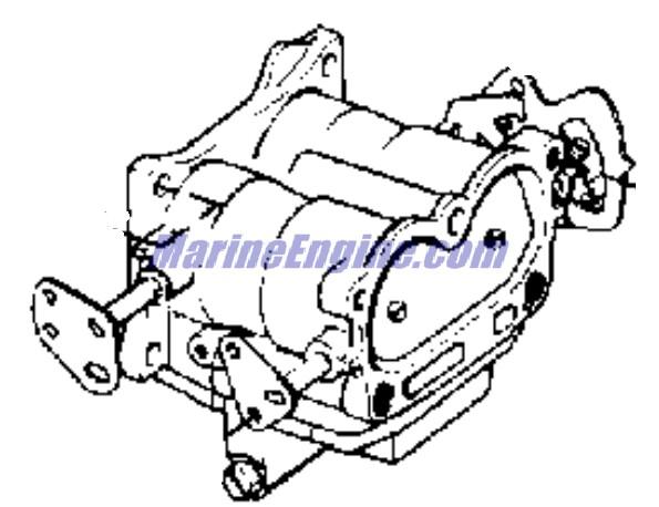 carburetor Parts for 1974 85hp 85esl74b Outboard Motor