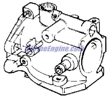 carburetor Parts for 1974 9.9hp 10424g Outboard Motor